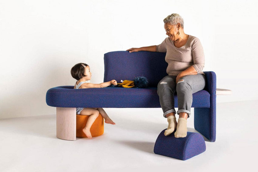 Furniture for intergenerational living arrangements